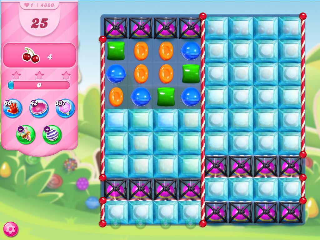 Candy Crush Saga level 4880
