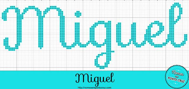 Nome Miguel em Ponto Cruz