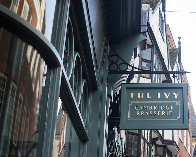 Review: The Ivy Brasserie  | The Middle Sister