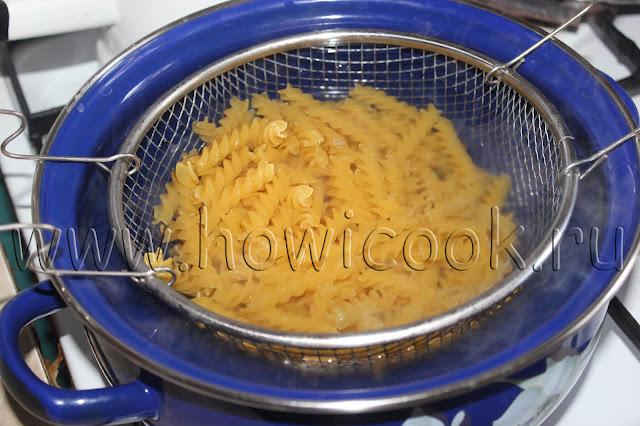 рецепт макарон по-флотски  с пошаговыми фото