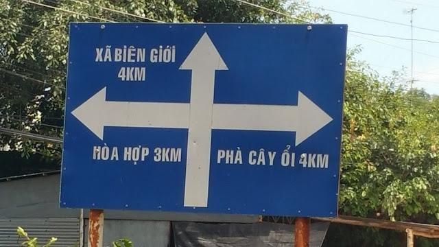 Xã biên giới