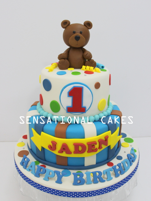 Cakes2share Singapore Cute Brown Teddy Bear 3d Cake Singapore 2