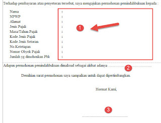 formulir pemindahbukuan pbk pajak