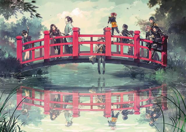 Katsugeki Touken Ranbu wallpaper