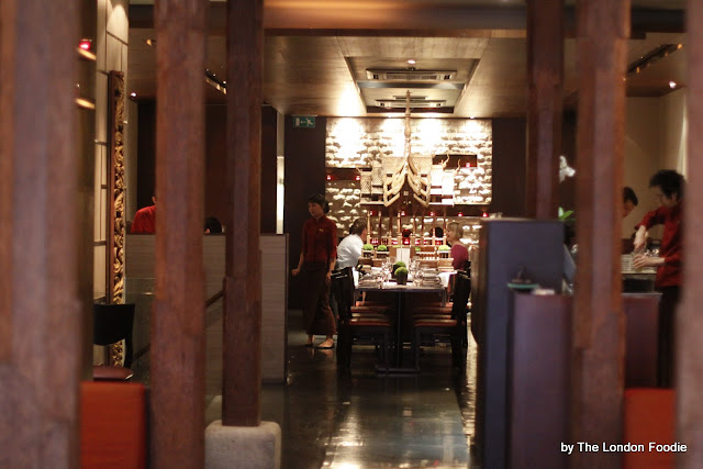 Patara Fine Thai Restaurant Oxford Circus London Ws Qb