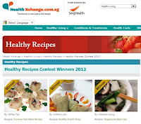winner of health xchange healthy recipes contest fish maw