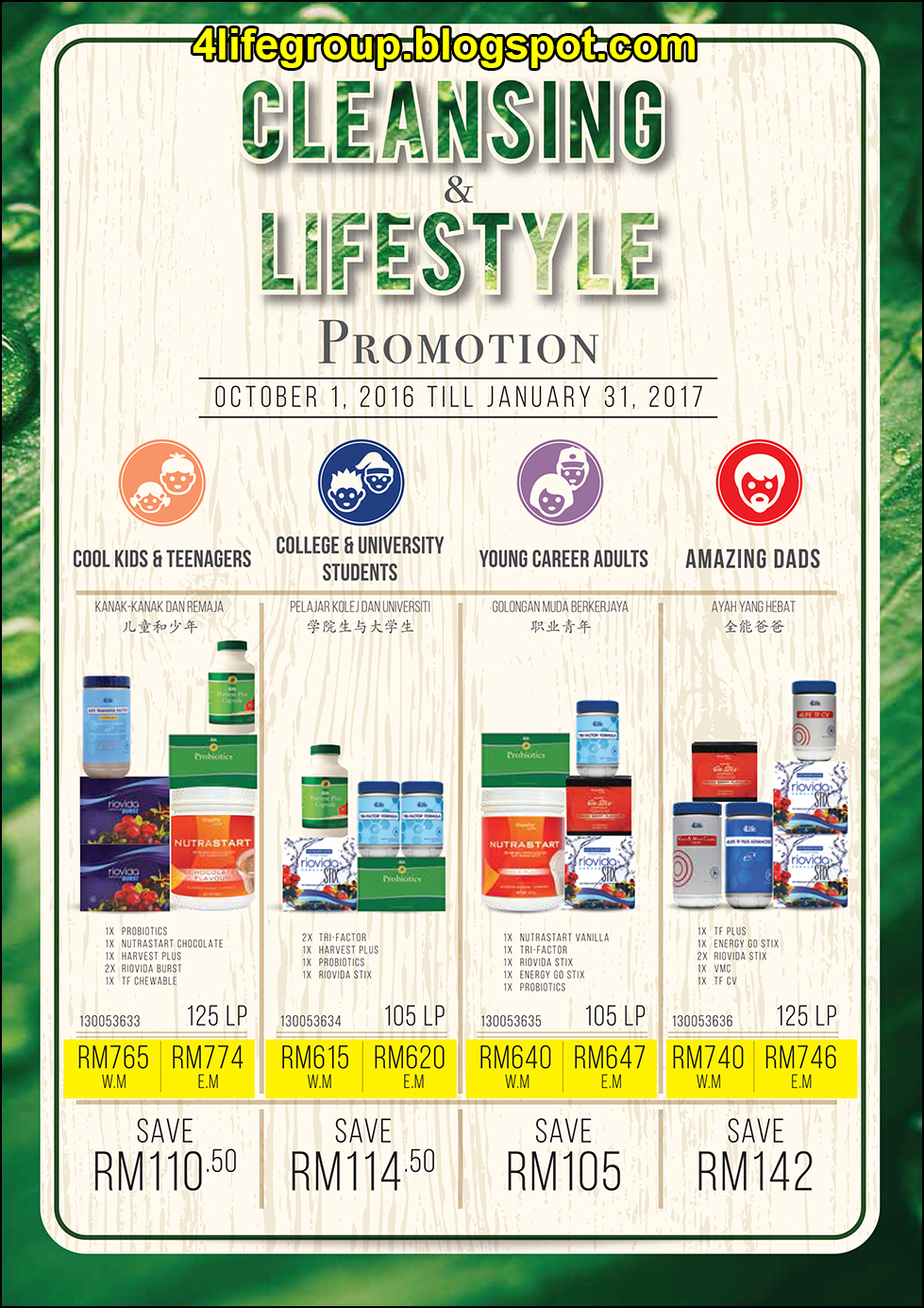 foto Cleansing & Lifestyle Promotion 2016 4Life Malaysia (1)