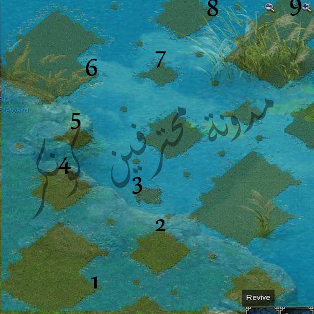 شرح ارض الميتيور met zone فى كونكر بالتفصيل