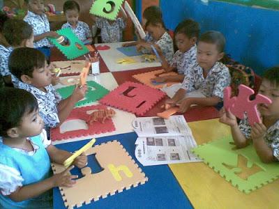 Penerapan Model Pembelajaran Sentra Untuk Anak Usia Dini