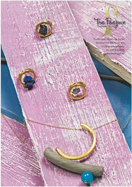 The Penguin - Handmade Stories jewelry featured in You Weekly Magazine