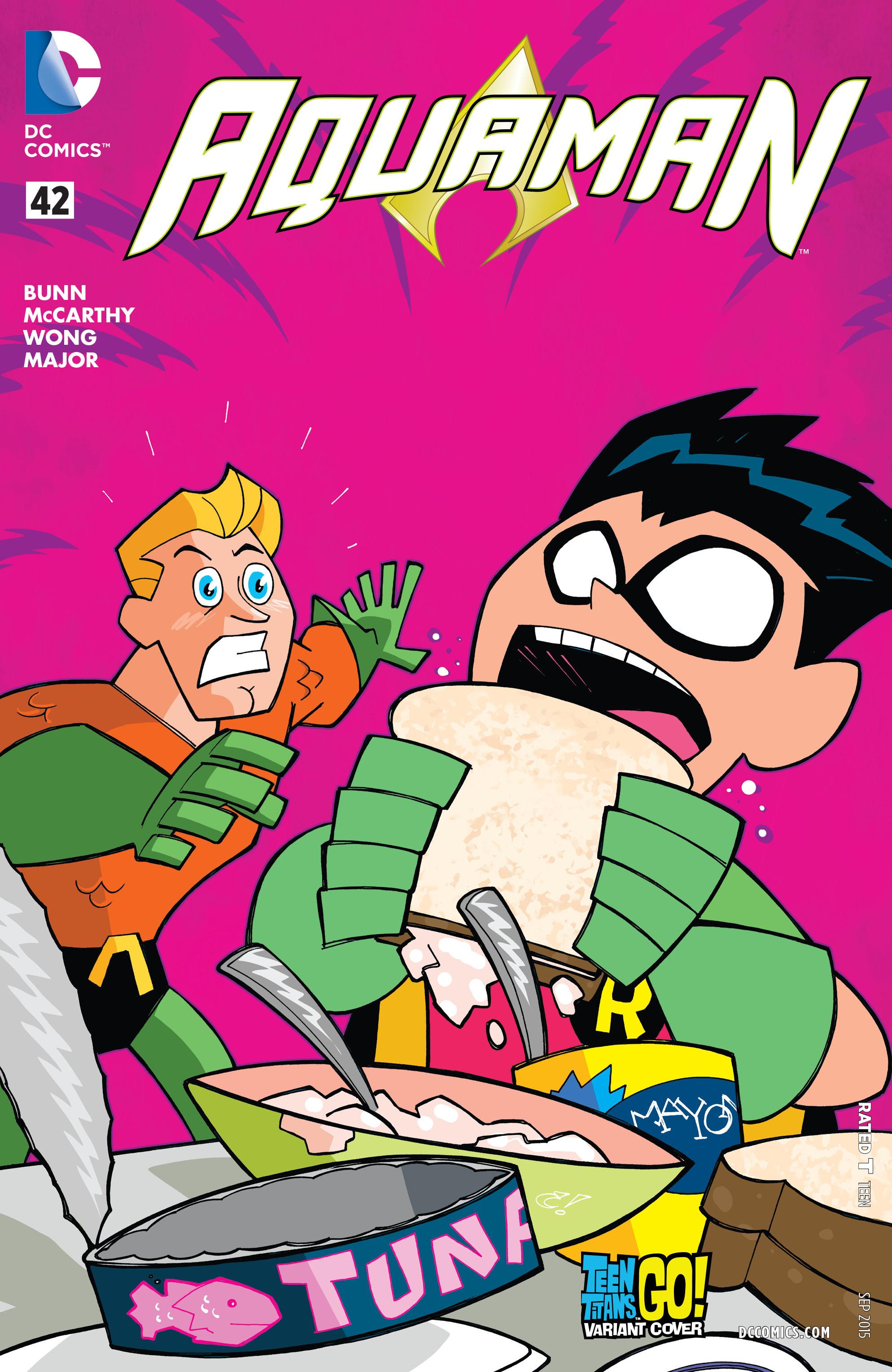 Read online Aquaman (2011) comic -  Issue #42 - 3