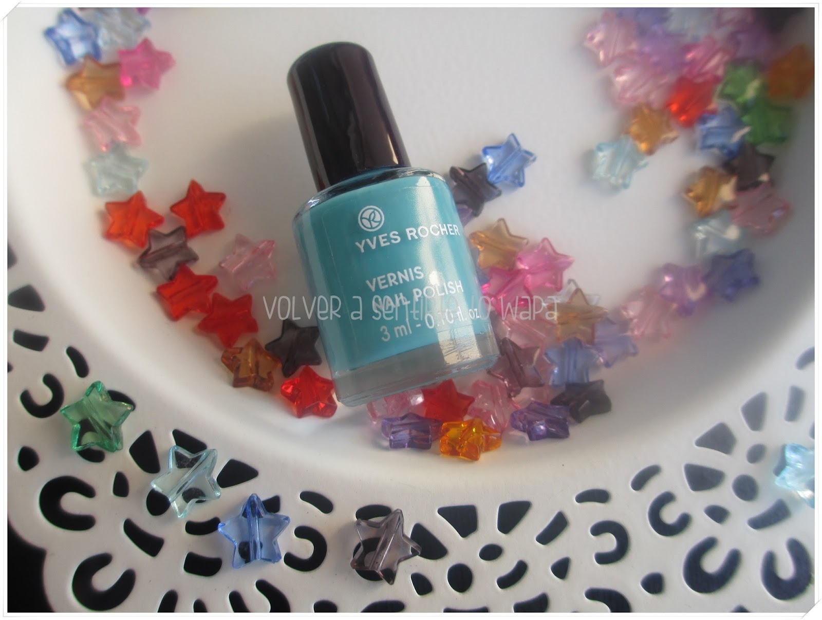 IT COLORS! los mini pintauñas de YVES ROCHER - Nuance turquoise