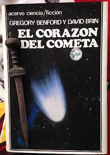 Portada del libro El corazón del cometa, de Gregory Benford y David Brin