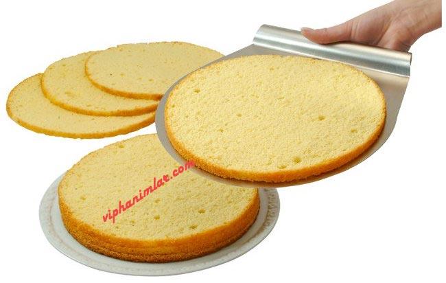 Zenker Kelepçeli Kek Dilimleme Kalıbı