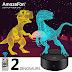 $9.49 (Reg. $18.99) + Free Ship Dinosaur Night Light!