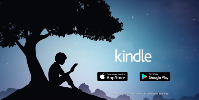 Amazon Kindle for android and iphone