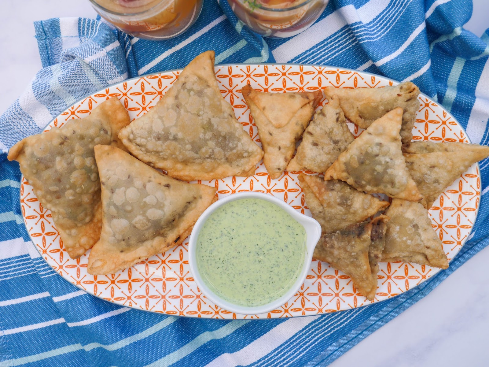 This Muslim Girl Bakes: Mini Pakistani Lamb Samosas.