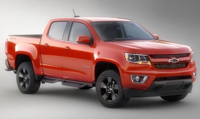 2018 Chevy Colorado Redesign, Release Date