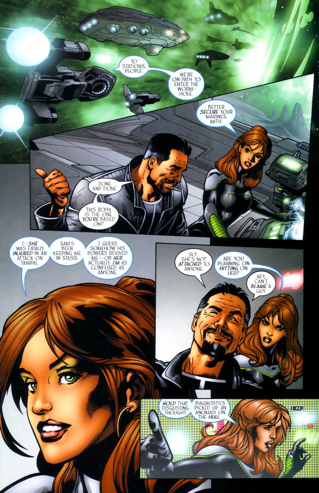 Read online Sigil (2000) comic -  Issue #30 - 15