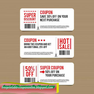 Free Printable Discount Coupons