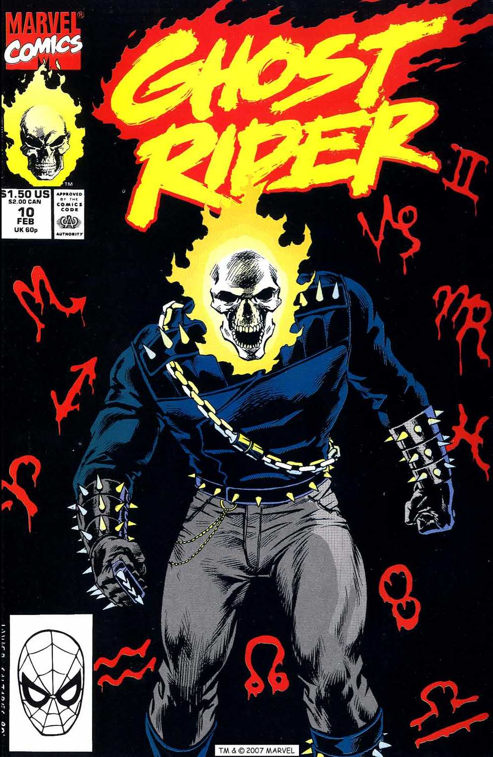 Ghost Rider (1990) 10 Page 1