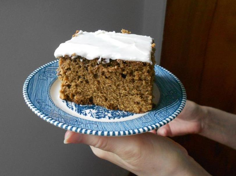 Piece of Molasses Cake Image