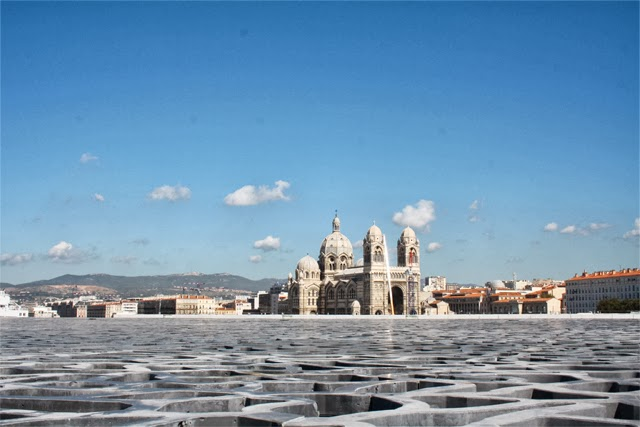 La major, vue du Mucem - Blog Marseille