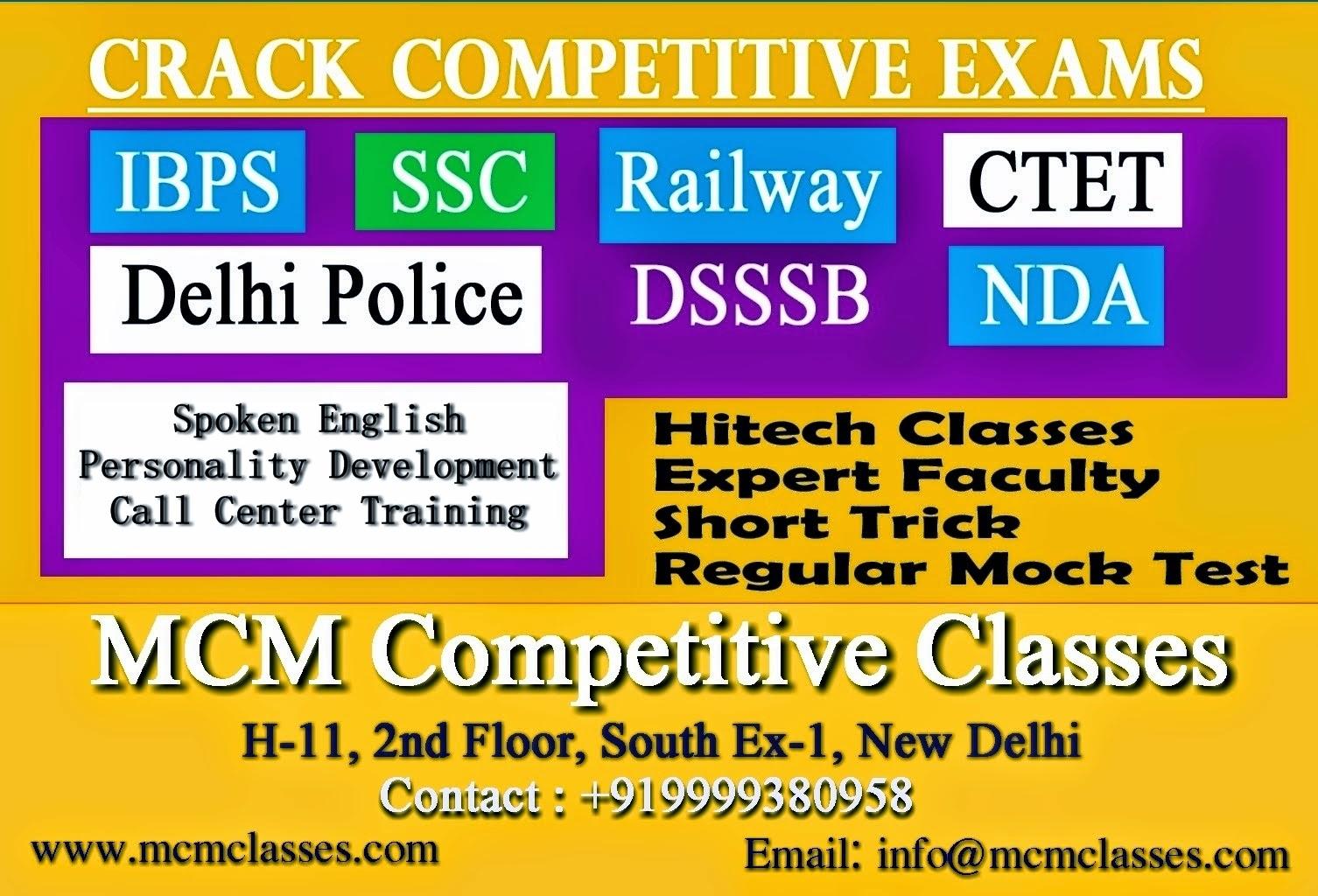 Bank PO/Clerk Coaching in Delhi   IBPS PO/Clerk Coaching in