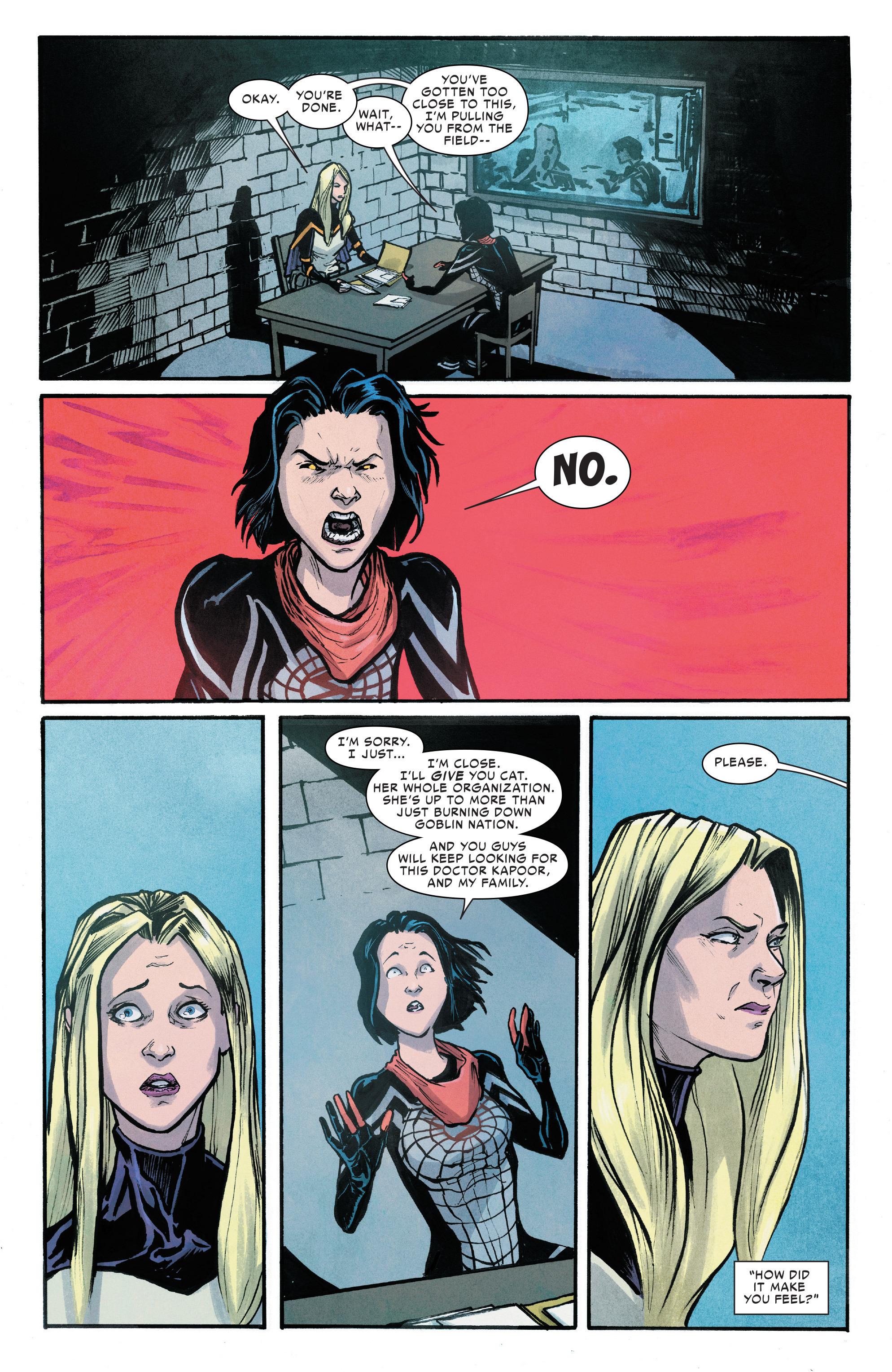 Read online Silk (2016) comic -  Issue #6 - 17