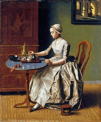 It 39 s about time swiss artist jean etienne liotard 1702 for Cocktail 1789