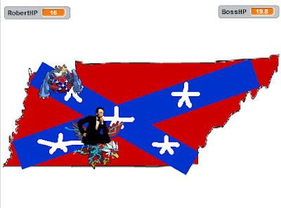 Abraham Lincoln Braviary Capture the Confederate Flag game Brave Bird Tennessee
