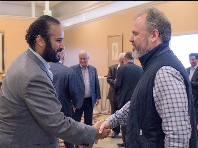 لقاءات محمد بن سلمان في امريكا