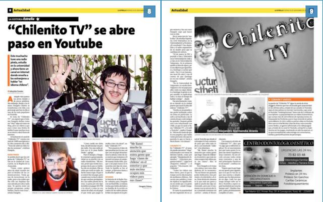 Entrevista en páginas 8 y 9