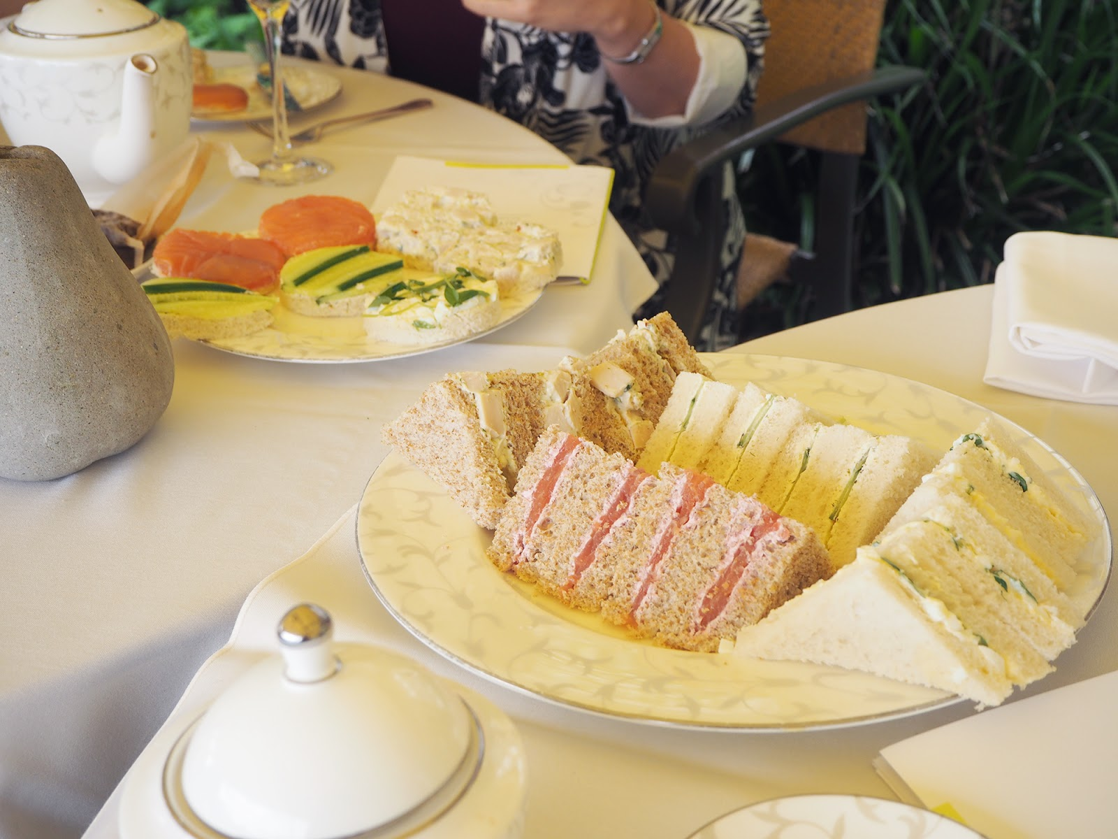 Afternoon tea review at South Lodge in Horsham - sandwiches
