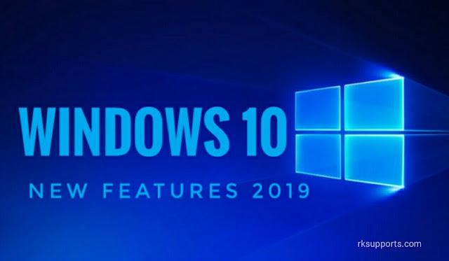Windows 10 new features, windows 10, Windows, windows update 2019