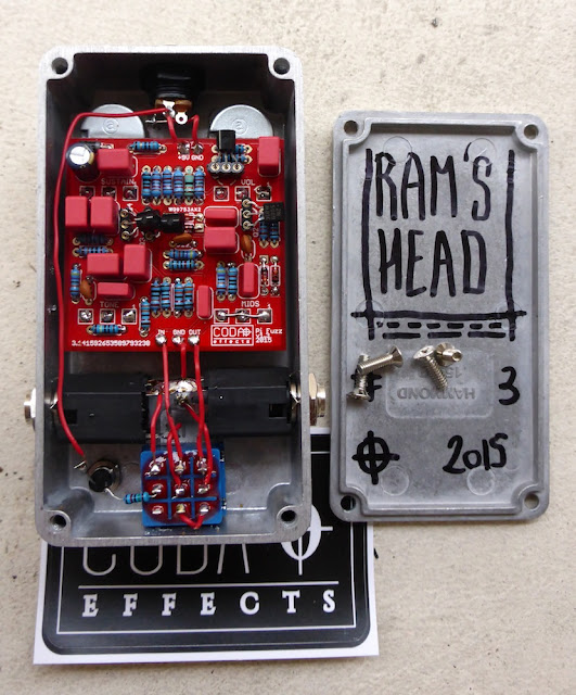 Big Muff Ram's Head DIY