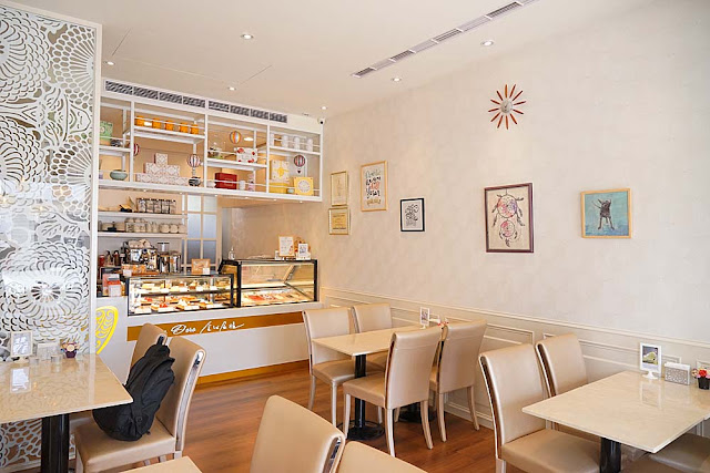 DSC01982 - 熱血採訪│隱藏在台中七期的藍帶甜點,金心盈福Cuore D'oro法義甜點