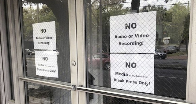 'Black Press Only!': White reporters not allowed at Savannah, Georgia mayoral race event