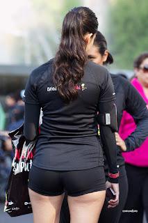 fotos mujeres licra spandex
