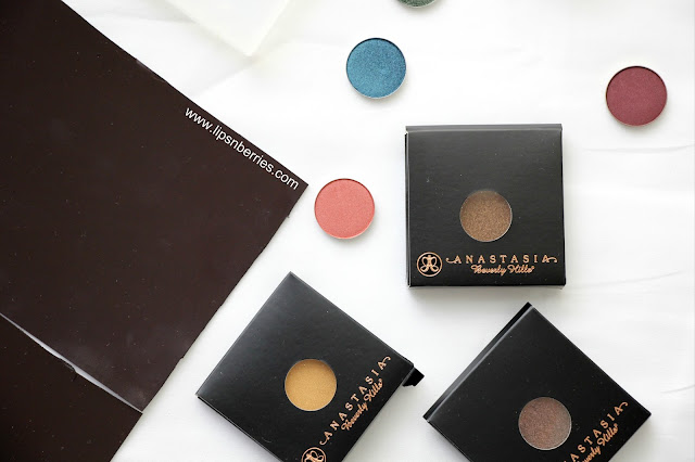 Are Anastasia Beverly Hills ABH eyeshadows magnetic
