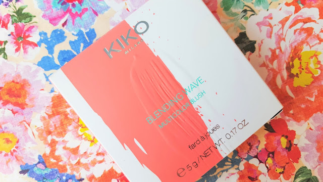 Beauty | Kiko Milano Blending Wave Multicolour Blush in Creative Peach