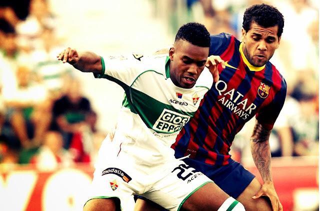 Barca and Elche match ended scoreless