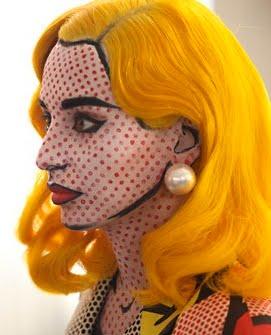 Roy Lichtenstein Halloween Costume.Wooden Spoon Editions A Costume That Goes Pop