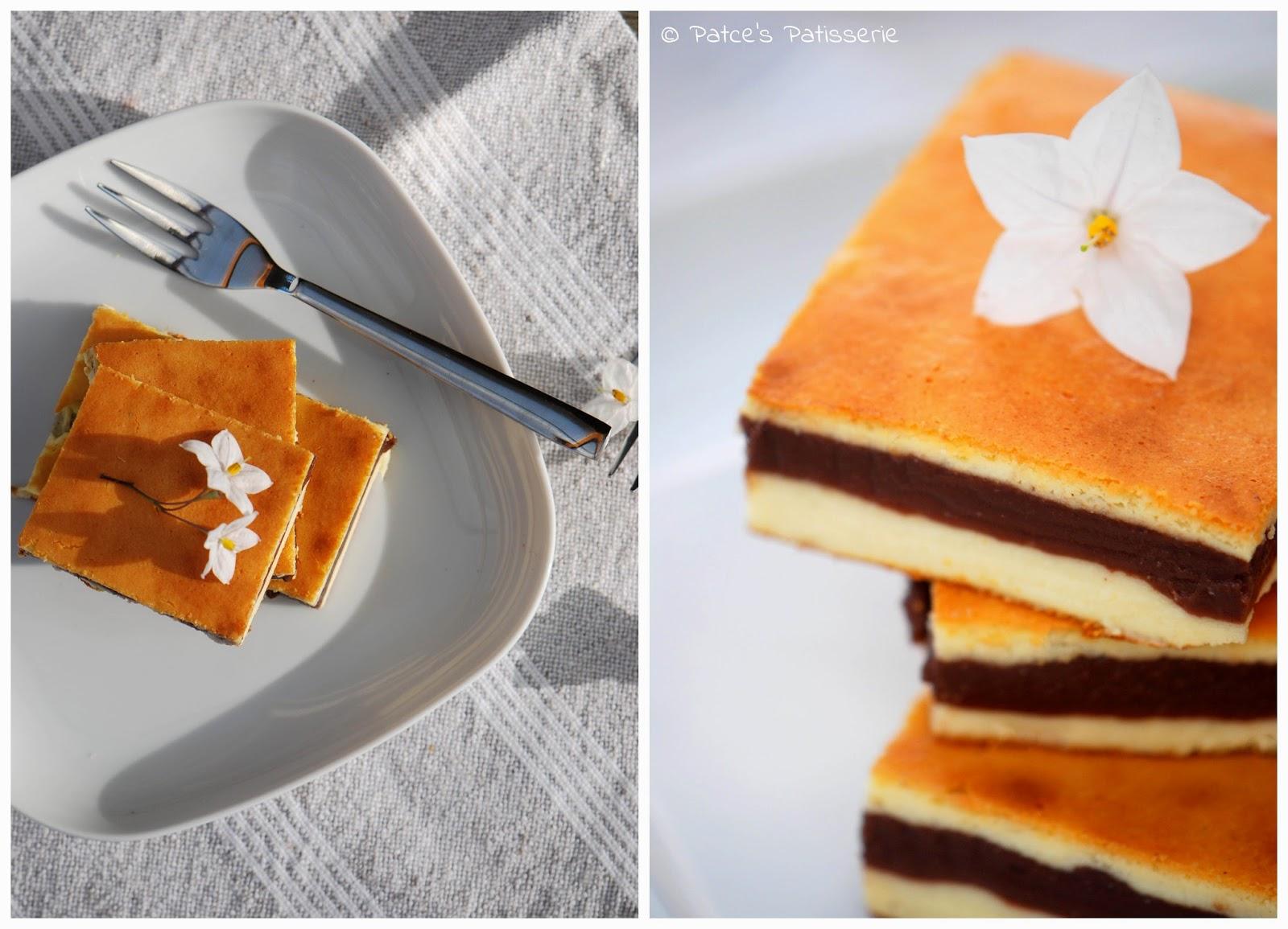 patces patisserie k sekuchen mit cremiger schokoladenschicht. Black Bedroom Furniture Sets. Home Design Ideas