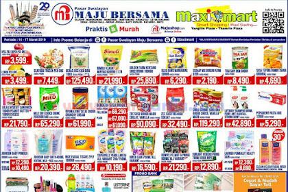 Katalog Promo Maximart Pasar Swalayan Weekend 21 - 24 Maret 2019