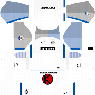 Inter Milan third Kits 2017/2018 - Dream League Soccer