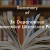 Chapter By Chapter Summary Of Independence [JAMB Recommended Novel For UTME] In PDF