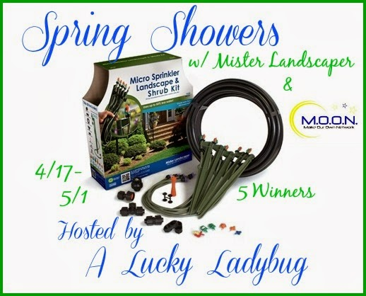 Enter the Spring Showers Giveaway. Ends 5/1.