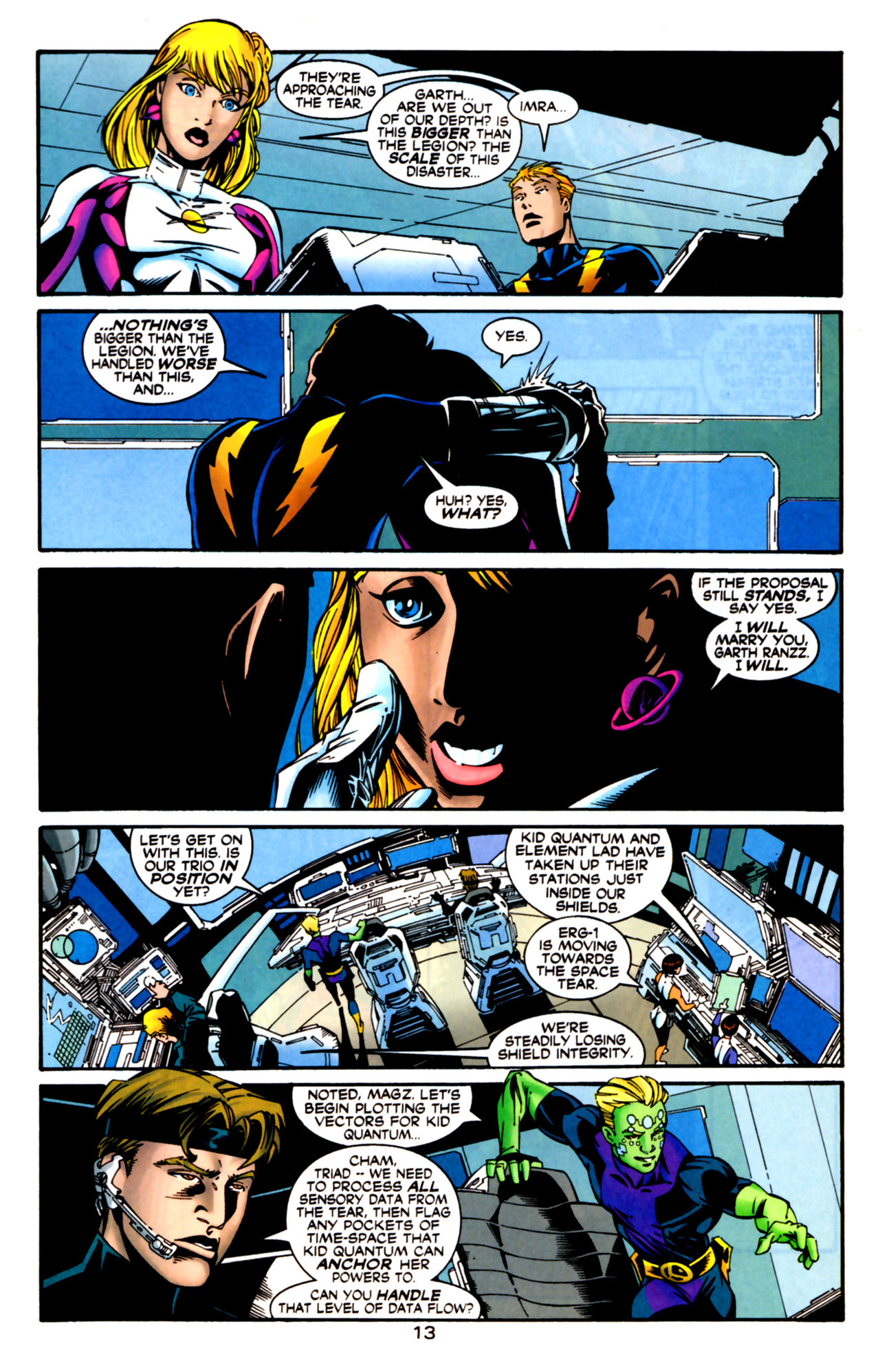 Legion of Super-Heroes (1989) 125 Page 13