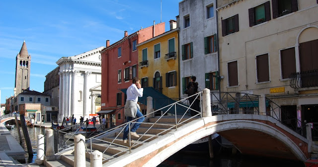 Ponte dei Pugni en Venecia